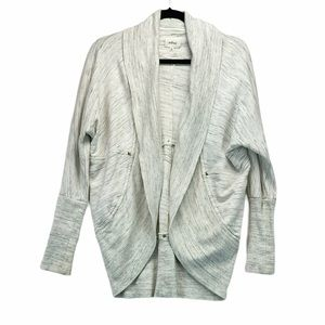 Wilfred Diderot Cocoon Cardigan Heathered White